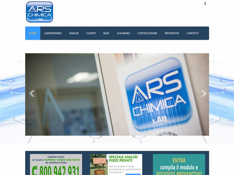 Ars Chimica Laboratorio Analisi
