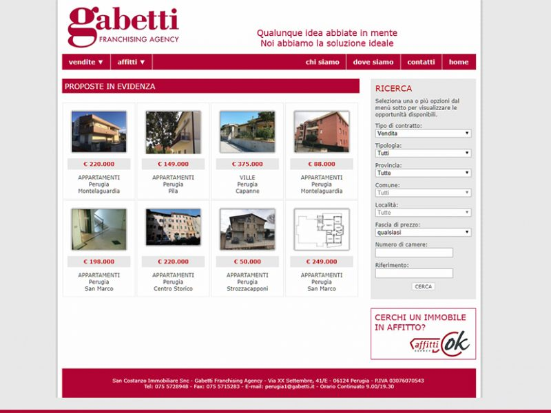 Agenzia Immobiliare San Costanzo, Gabetti, Perugia